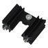 529801: TO-218 Heat Sink Color: Black