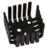 635-180: TO-3 Heat Sink Color: Black