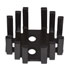 630-160: TO-3 Heat Sink Color: Black