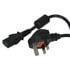 2171RFI10: 3 Conductor Right Angle Detachable Power Cord