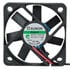ME50101V1-000U-A99: 12V DC 13.8 CFM Brushless Fan Voltage: 12VDC