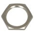 9/16-27HN: Hex Nut Brass Plated Nickel (Hardware)