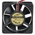 AD0612MB-C73GL(Q): AD 12 Volt DC 60MM Brushless Tubeaxial Fan Voltage: 12 Volts DC