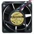 AD0612VB-A7BGP: AD 12 Volt DC 120MM Brushless Tubeaxial Fan Voltage: 12 Volts DC