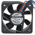 AD5012HB-D76: 12 Volt DC 50MM Brushless Tubeaxial Fan Voltage: 12 Volts DC