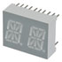 LTP-4823G: 2 Digit Alphanumeric LED Display (7 Segment)