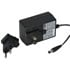 18W AC-to-DC Interchangeable Switching Wall Adapter Power Supply 12V 1.5A