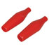 SLV-1.2-R: Red Insulator Sleeve for Alligator Clip (Set of 2)