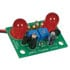 JE250: Jumbo LED Flasher -Solder Kit 9V Battery