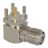 Nickel RF Receptacle Jack