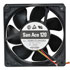 109R1212H1DO1: 12 Volt DC 120MM Brushless Tubeaxial Fan