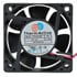 RDH6025B: 12 Volt DC 20.3 CFM 60X60X25 Mm Brushless Fan