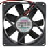 F8025S12B: 12 Volt DC 80MM Brushless Tubeaxial Fan