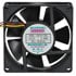 E9225H12B2: 12 Volt DC 92MM Brushless Tubeaxial Fan