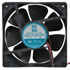 OD1238-12HHB: Fan 12VDC 154CFM 120X120X38 Sleeve 12 Inch LDS with Conn