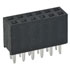 255-0001: 2 Row 6 Position Female Header Receptacle