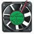 60 x 60 x 15 mm 12V DC Brushless Tubeaxial Fan with 5 Inch Wires 16 CFM