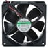24 VDC 120mm x 38mm Brushless Fan 138 CFM