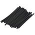 BP74052: 50 Pack 3/32 Inch Black Heat Shrink Tubing