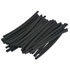 BP74053: 50 Pack 1/8 Inch Black Heat Shrink Tubing