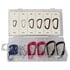 HAS09: 12 Piece Aluminum Snap D-Ring Assortment (Mounting Hardware)