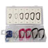 12 Piece Aluminum Snap D-Ring Assortment