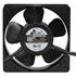 UF-12A1223BWH: 115/230 Volt AC 120MM Tubeaxial Fan