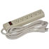 POWER STRIP,6-OUTLET,10CORD, ON/OFF,SWITCH,125V/15A/BEIGE