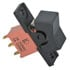 SPDT ON-NONE-ON Panel Mount Black Rocker Switch