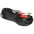 255-136: STEREO-2RCA Plugs to 2RCA Male Plugs 25 Foot Cable