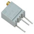 3266W-1-201/64WR200: 1/4 Inch 200 Ohm Cermet Trimmer Potentiometer Square 12 Turns