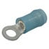 320619: Terminal Ring Blue 16-14 #6 Stud Nylon