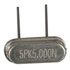 TQR49S5M0000A2010: Crystal 5.00MHZ HC49/US 20pf Low Profile