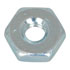 36020: NUT HEX 6-32 Zinc Plated Steel (Hardware)