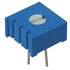 3386P-1-304/63P304: Potentiometer 3/8 Inch Square Single-Turn Cermet