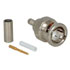 31-70013-1000: Cable Terminated Male BNC Connector Crimp Plug
