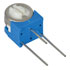 3329X-1-501: 1/2 Watt 1/4 Inch Round Trimmer Potentiometers (±10%) (Resistors)