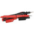 Test Leads with Alligator Screw On Tips 1 Red 1 Black 40 Inch