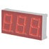 Red LED Displays Lite on 7 Segment Pin