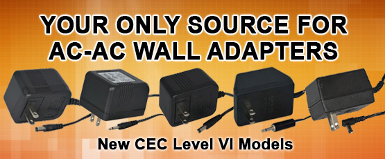 AC to AC Wall Adapters