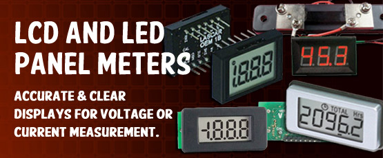 LCD and LED Panel Meters