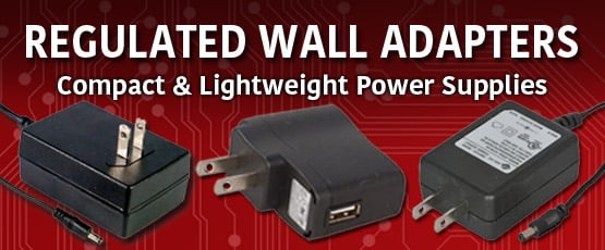 Regulated Switching Wall Adapters