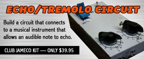 Echo/Tremolo Circuit