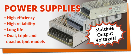 Multiple Output Power Supplies