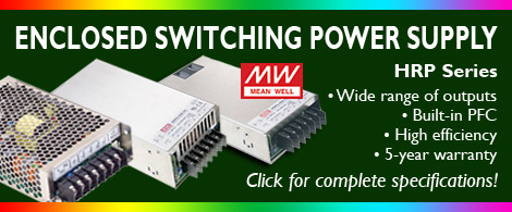 Mean Well Switching  Power Supplies