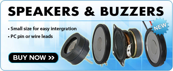 Speakers and Buzzers