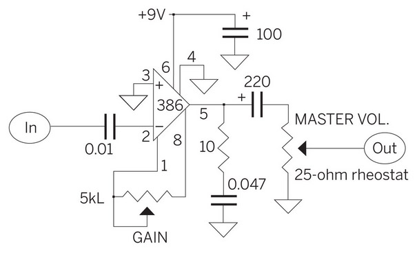Music Speaker Circuit Diagram - Free Vehicle Wiring Diagrams •