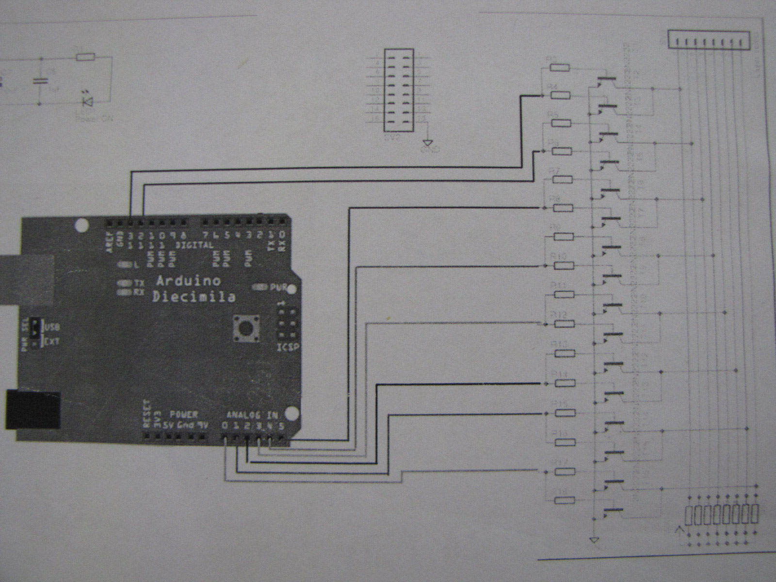 How To Build 8x8x8 Led Cube Servo Pin Diagram Free Download Wiring Diagrams Pictures Transistor Schematic Larger Image