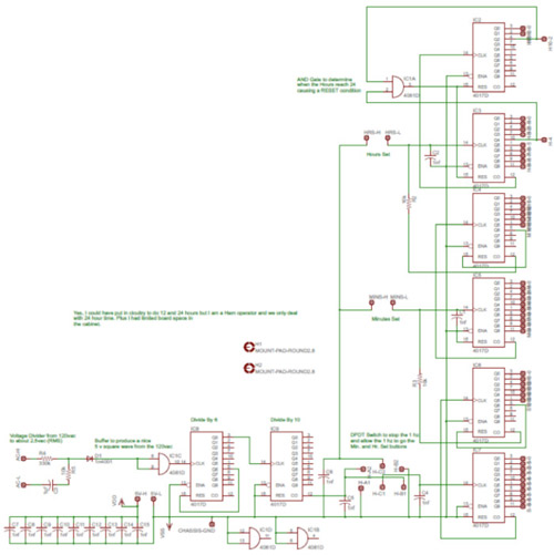 my story a nixie clock projectschematic nixie clock project circuit