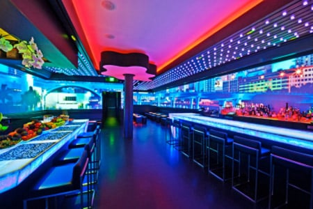 LED Lighting in Haven Restaurant in Miami Florida & Product Review: Magnitude Lighting Transformer LED Drivers azcodes.com